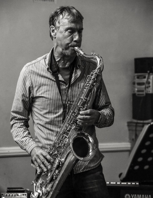 Saxophonist and composer Rob Yockney